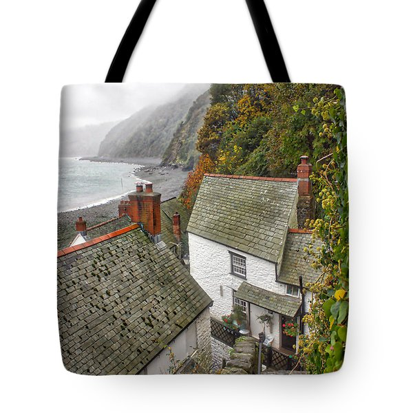 Clovelly Coastline Tote Bag
