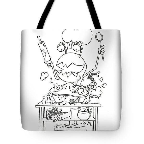 Closet Monster Baking Tote Bag