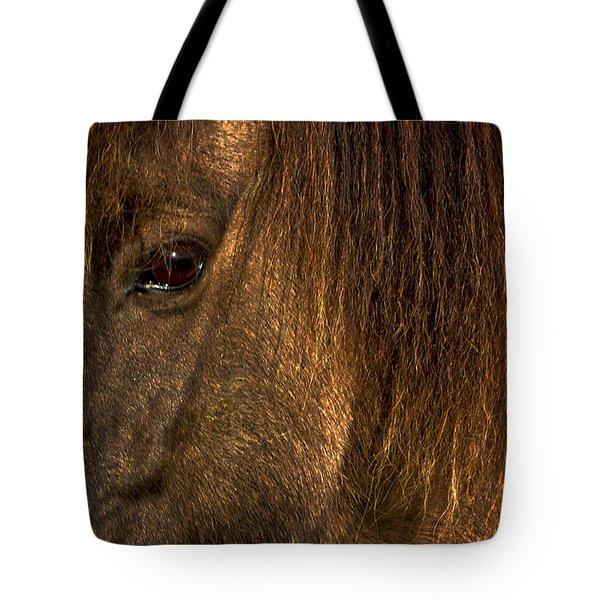 Closeup Of An Icelandic Horse #2 Tote Bag