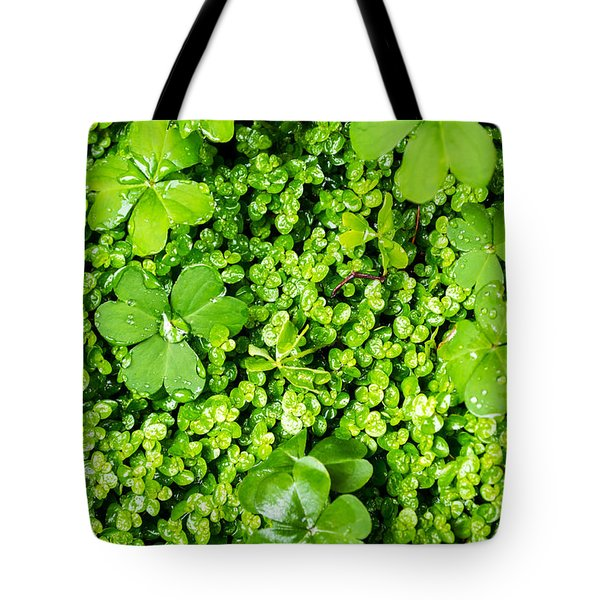 Lush Green Soothing Organic Sense Tote Bag