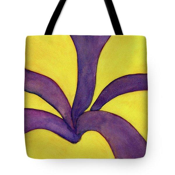 Closeup Of Yellow Rose Tote Bag