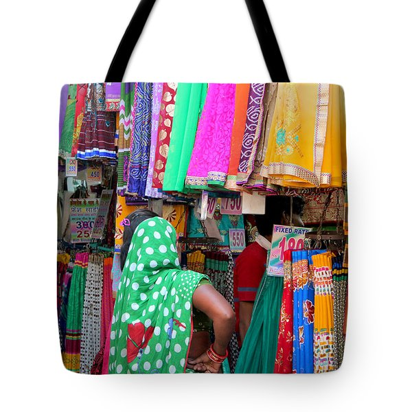 Clothing Shop In Madhavbaug, Mumbai Tote Bag