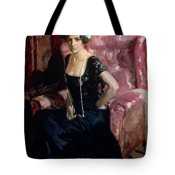 Clotilde In An Evening Dress Tote Bag