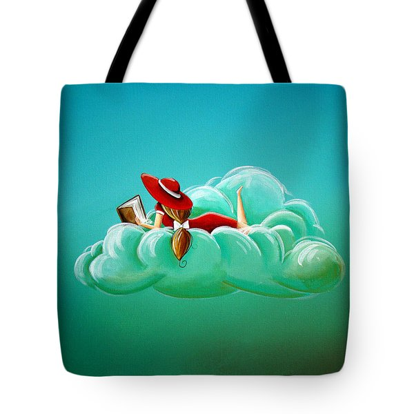 Cloud 9 Tote Bag by Cindy Thornton