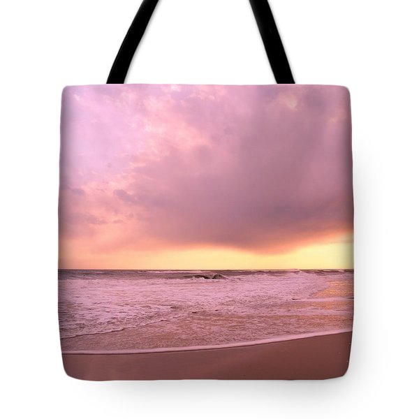 Cloud And Water Tote Bag by Karen Silvestri