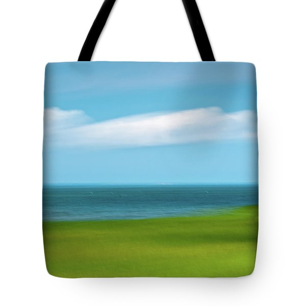 Cloud Bank 3 Tote Bag