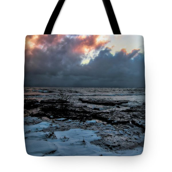 Cloud Bank At Sunset Tote Bag