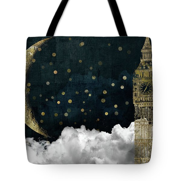 Cloud Cities London Tote Bag by Mindy Sommers