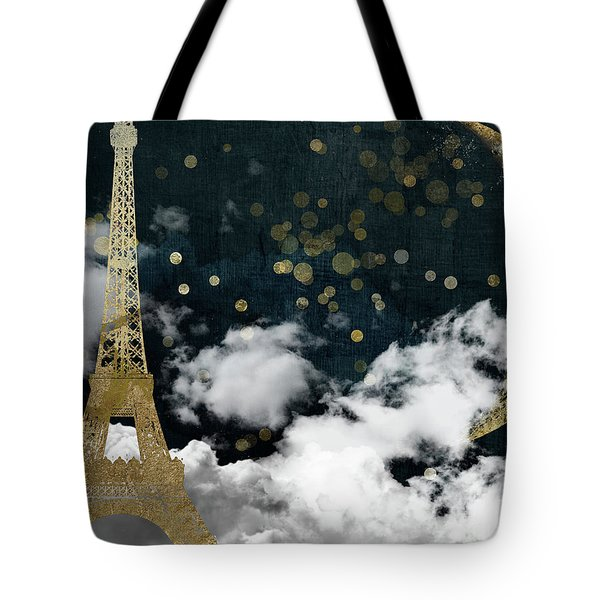 Cloud Cities Paris Tote Bag by Mindy Sommers