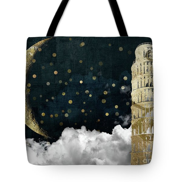 Cloud Cities Pisa Italy Tote Bag by Mindy Sommers