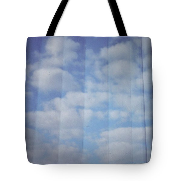 Cloud Curtain Tote Bag by Julia Walsh