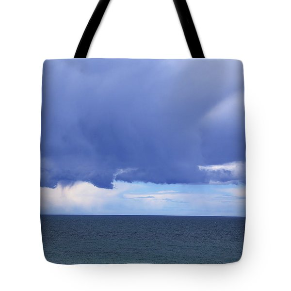 Tote Bag featuring the photograph Cloud Curtain by Nareeta Martin