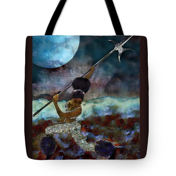 Cloud Dancer A Capella Tote Bag
