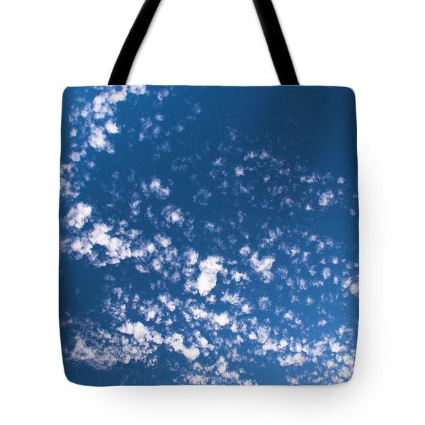 Tote Bag featuring the photograph Cloud Dragon by Yulia Kazansky