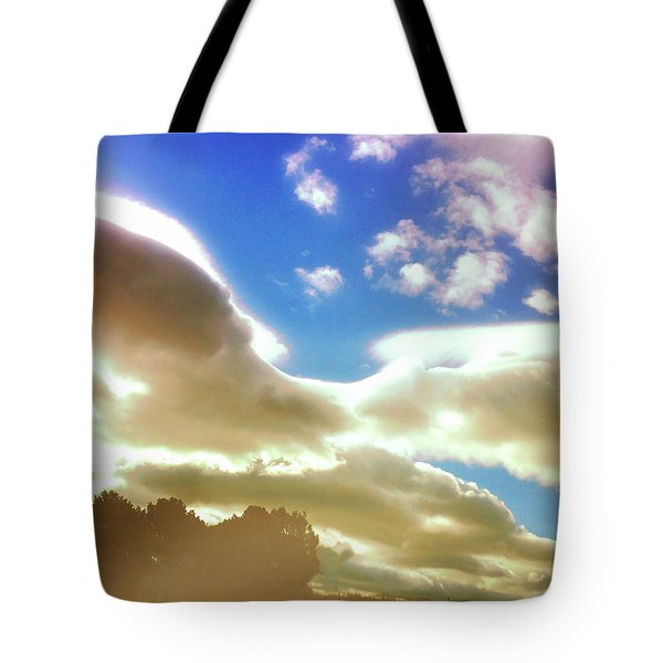 Cloud Drama Over Sangre De Cristos Tote Bag