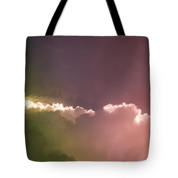 Cloud Eruption Tote Bag by Stefanie Silva