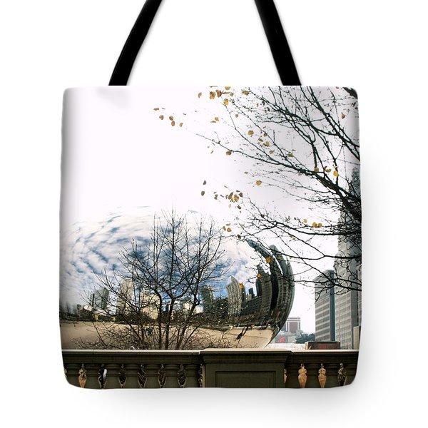 Cloud Gate - 1 Tote Bag by Ely Arsha