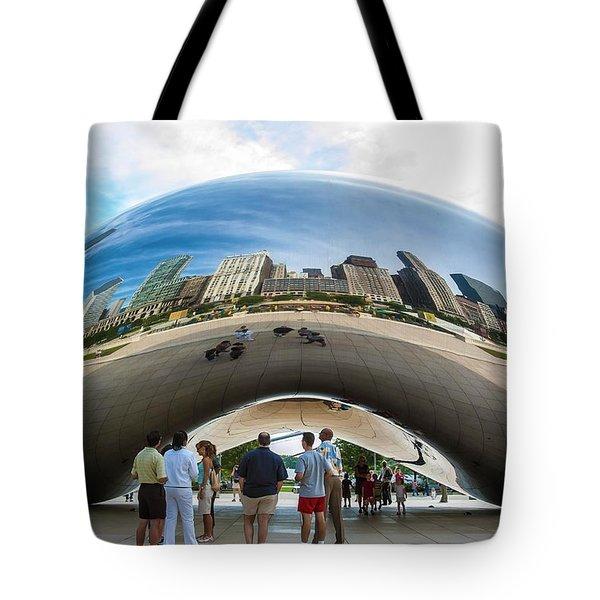 Cloud Gate Aka Chicago Bean Tote Bag