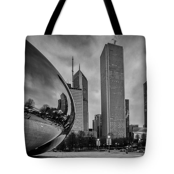 Cloud Gate Tote Bag