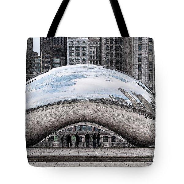 Cloud Gate Tote Bag