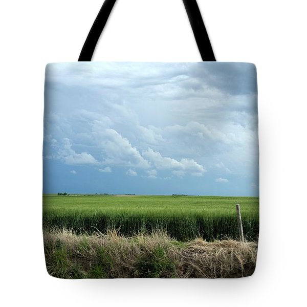 Cloud Gathering Tote Bag
