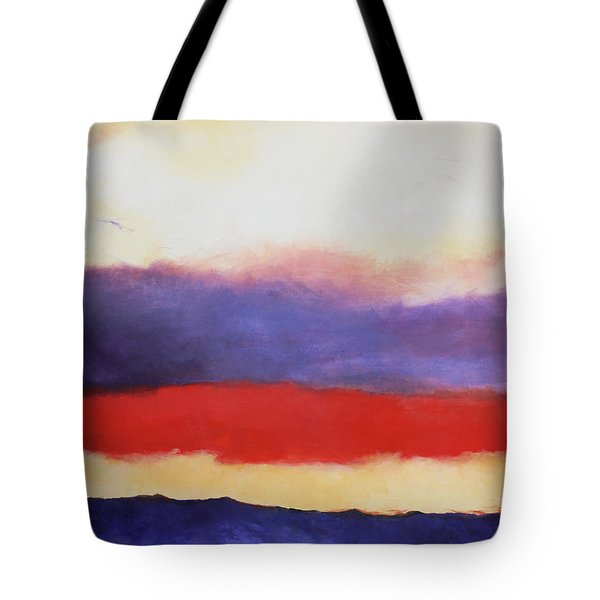 Cloud Layers 4 Tote Bag