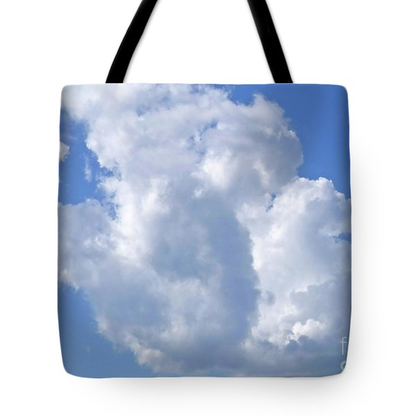 Tote Bag featuring the photograph Cloud M1 by Francesca Mackenney