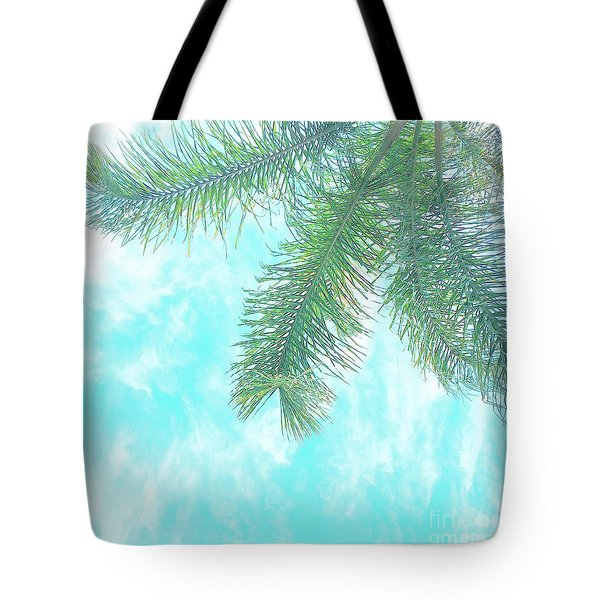 Tote Bag featuring the photograph Cloud-marbled Sky by Cindy Garber Iverson