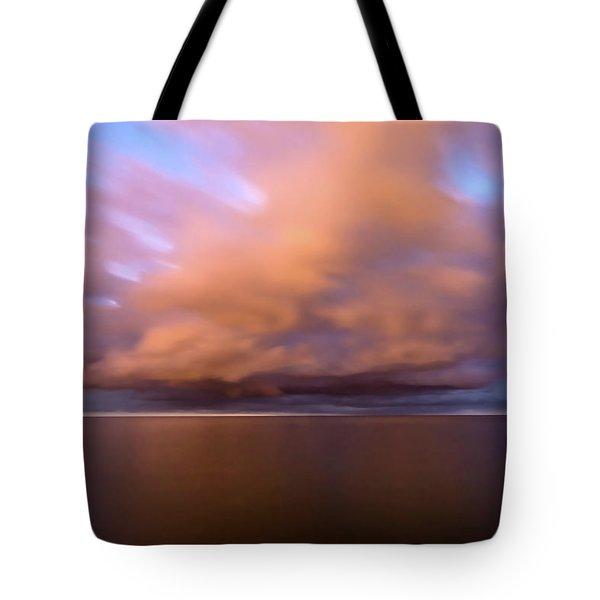 Cloud Motion At Dawn  Tote Bag