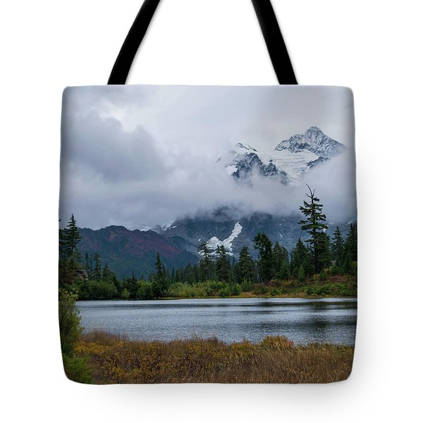 Cloud Mountain Tote Bag