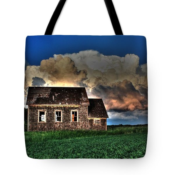Cloud Over One Room School Tote Bag