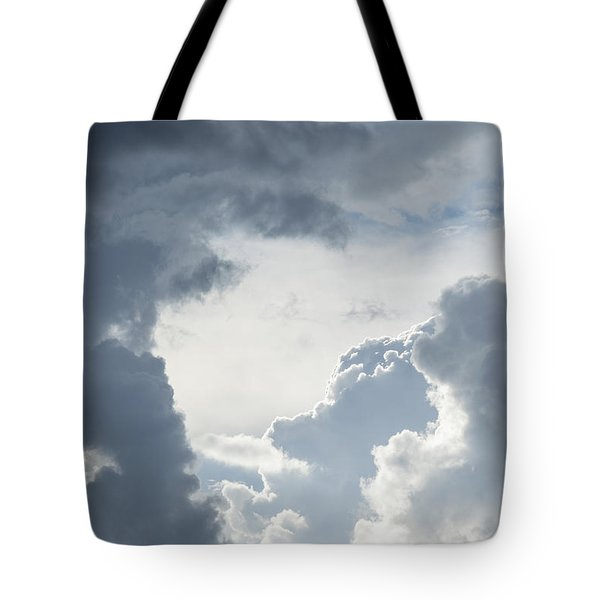 Cloud Painting Tote Bag