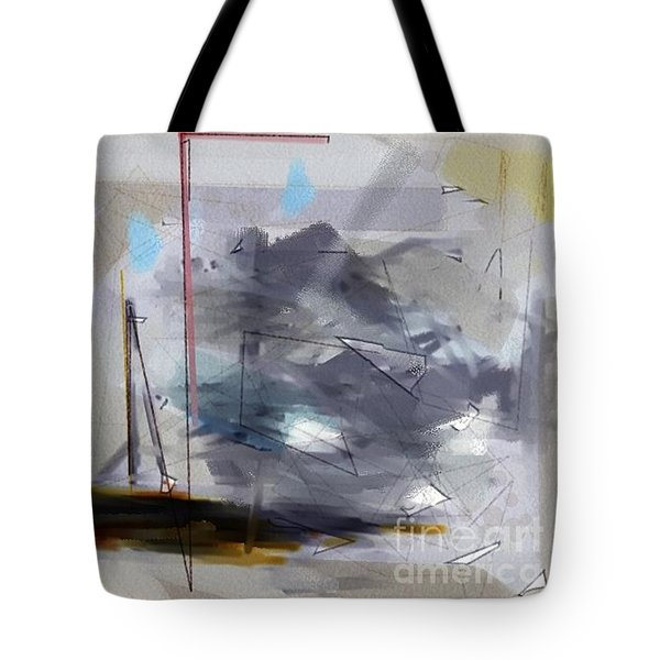 Tote Bag featuring the digital art Cloud by Robert Anderson