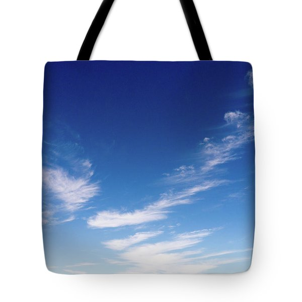 Cloud Sculpting Tote Bag