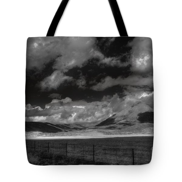 Tote Bag featuring the photograph Cloud Shadows In The Sangres  by William Fields