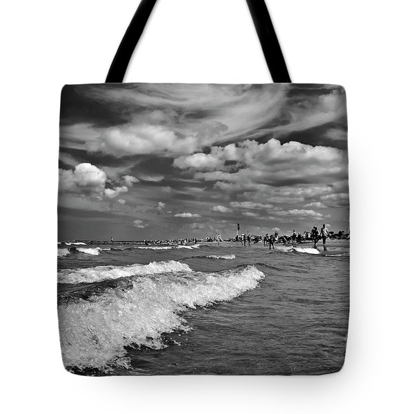 Tote Bag featuring the photograph Cloud Sound Drama by Silva Wischeropp