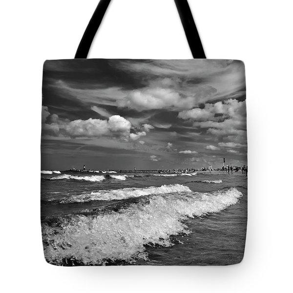 Cloud Sound Drama Tote Bag