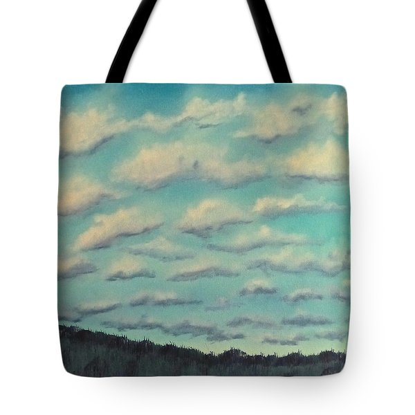 Cloud Study Cropped Image Tote Bag