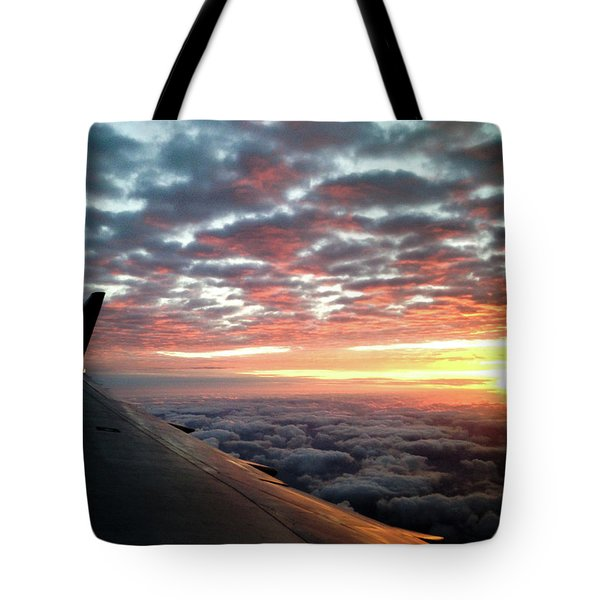 Cloud Sunrise Tote Bag
