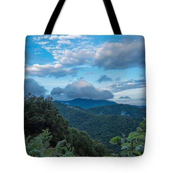 Cloud Top Tote Bag