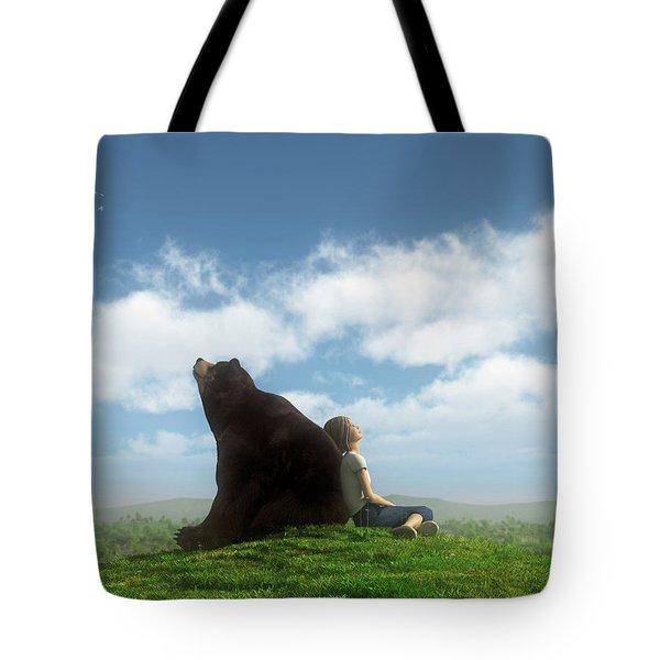 Cloud Watchers Tote Bag