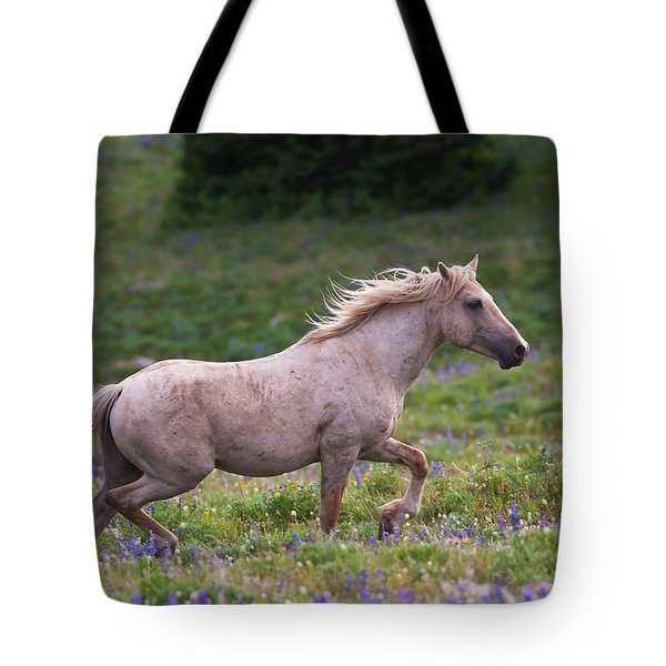 Cloud- Wild Stallion Of The West Tote Bag