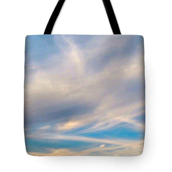 Cloud Wisps Tote Bag