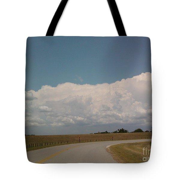 Cloudbank Tote Bag