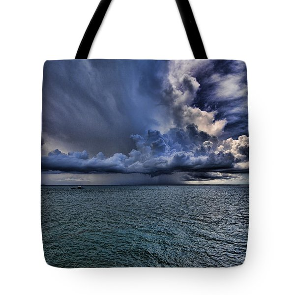 Cloudburst Tote Bag by Douglas Barnard