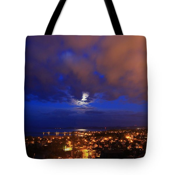 Clouded Eclipse Tote Bag