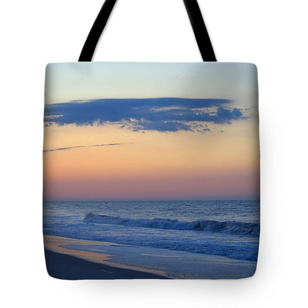 Clouded Pre Sunrise Tote Bag