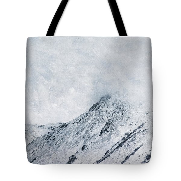 Clouded Peaks Tote Bag