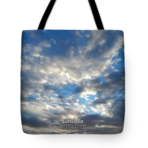 Clouds #4049 Tote Bag