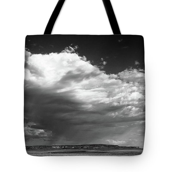 Tote Bag featuring the photograph Clouds Along Indian Route 13 by Monte Stevens